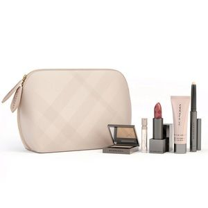 NIB Burberry Beauty Pouch - Beige